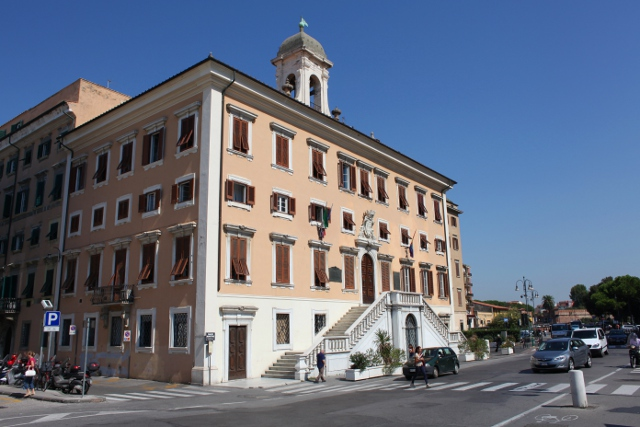 Town Hall in Livorno, Italy