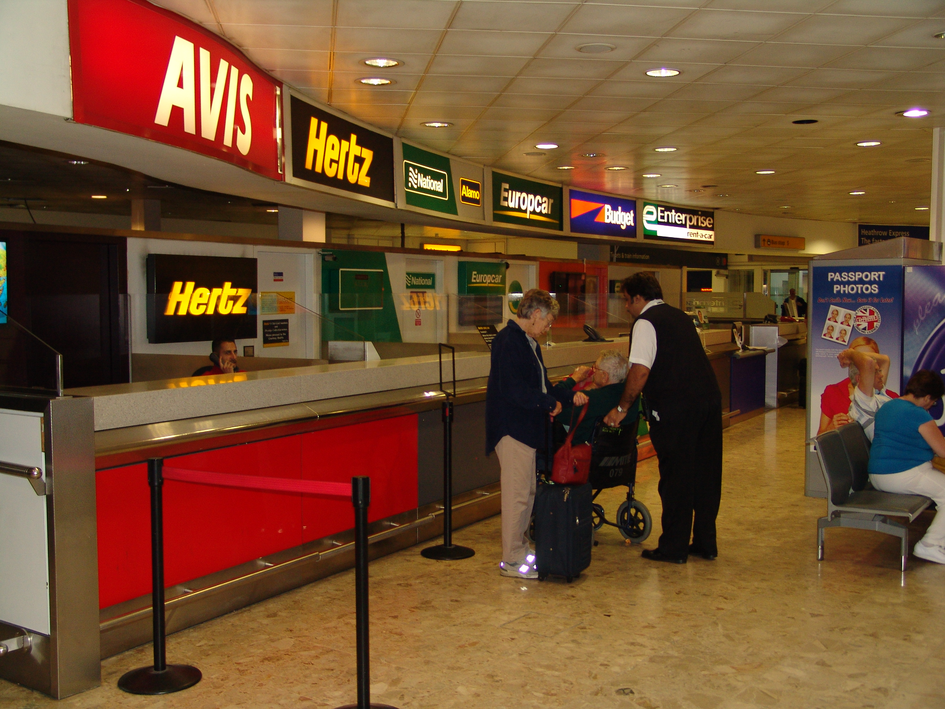 Hertz car rental at seatac airport